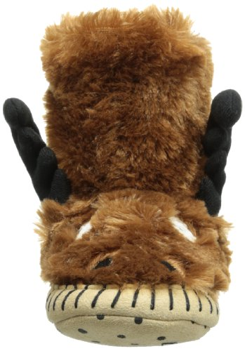 Hatley Slouch - Moose, Chaussons Garçon Marron (Brown)