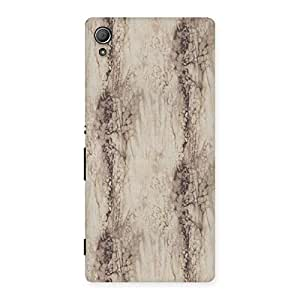 Goosbery White Oak Wood Printed Design Back Cover For Sony Xperia Z3 Plus