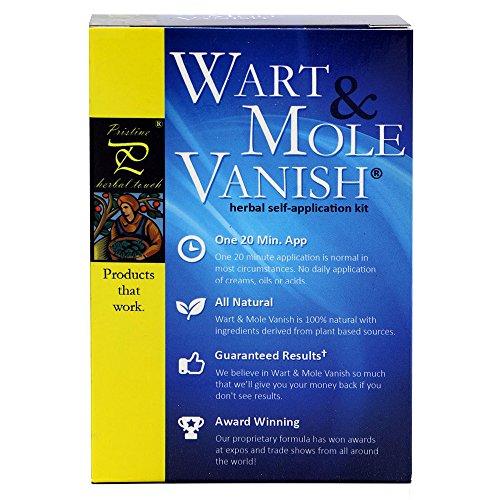 Wart & Mole Vanish Warzen Entfernen - Leberflecken, Syringome, Muttermale & Genitalwarzen Entfernen - Preisgekrönt - Entfernung bei nur 20...
