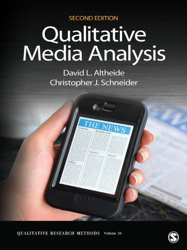 Qualitative Media Analysis (Qualitative Research Methods)