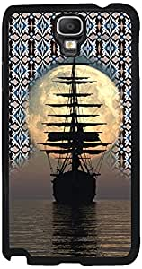 Printvisa 2D-SGN3N-D8115 Travel Ship Sunset Case Cover For Samsung Galaxy Note 3 Neo 3G Sm-N750