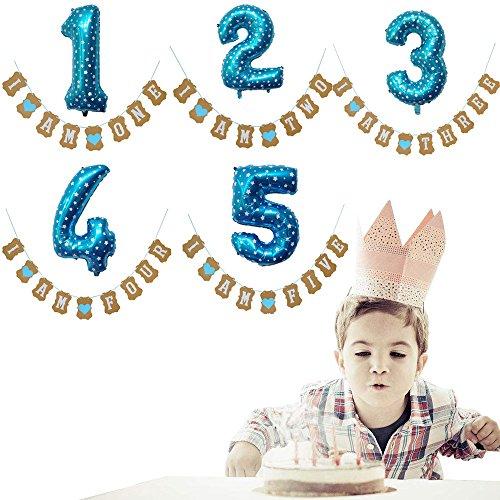 Rabatt Birthday Party Supplies - mxjeeio Birthday Dekoration Aufblasbar Helium Folie