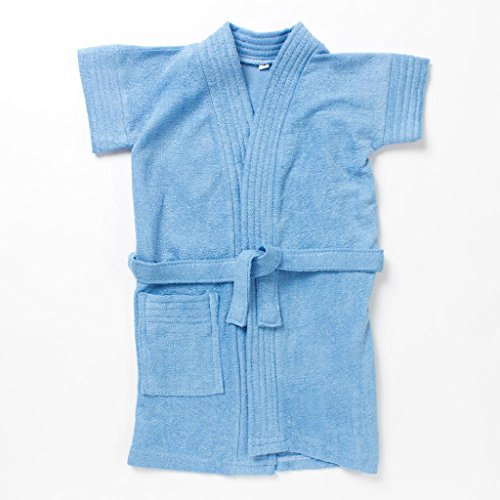 Pebbles Baby Blue Bath Robe