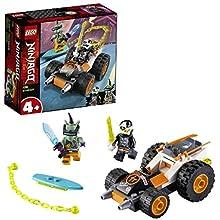 LEGO Ninjago - Il Bolide di Cole con Minifigure di Digi Cole e Hausner per Costruire e Partire per Mille Avventure, Set di Costruzioni per Bambini 4+ Anni, 71706