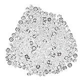 Acryl Diamant Glitzer Diamantkristalle Transparent DIY Schöne Dekoration für Hochzeit Party Geburtstag Vase Handy(8mm (1000pcs))