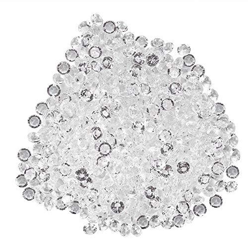 Acryl Diamant Glitzer Diamantkristalle Transparent DIY Schöne Dekoration für Hochzeit Party...
