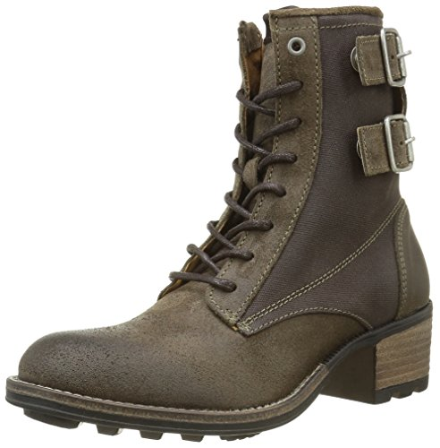 PLDM by Palladium Damen Cutty Mix Klassische Stiefel (Wadenhoch) Marron (370 Antilope)