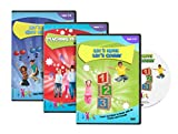 Maths for Toddlers - Maths Active Learning DVD triple pack - Teaching Times T.