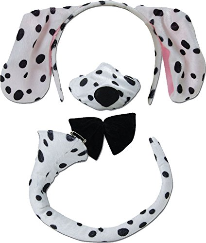 Kostüm Dalmatiner Ohren - Dalmatian Set With Sound