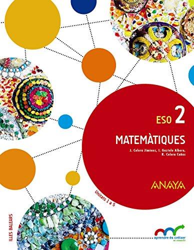 Matemàtiques 2. (Aprendre és créixer en connexió) - 9788469815502 por José Colera Jiménez