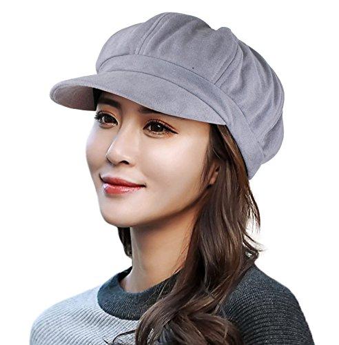 EINSKEY EINSKEY Ballonmütze Damen Baseball Cap Schwarz Grau New Era Schirmmütze Barett Mütze mit Visor