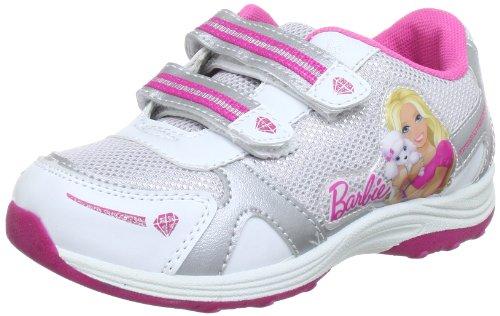 Barbie sport BA300001 Mädchen Sneaker Mehrfarbig (wht/sil/wht 157)
