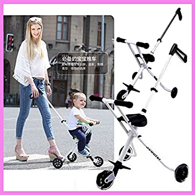 Portable Folding Lightweight Baby Toddle Kids Child Tricycle Stroller Travel Pram Buggy Pushchair 1~7 Y