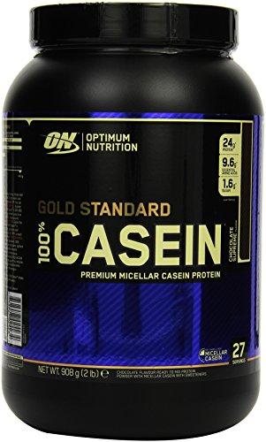 Optimum Nutrition Gold Standard Casein- Protein Pulver (mit Glutamin und Aminosäuren. Eiweisspulver von ON) Chocolate Supreme, 28 Portionen, 0,9kg