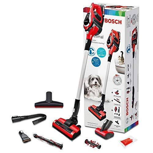 Bosch ProAnimal Unlimited Serie 8 BBS1ZOO Aspirador escoba sin cable especial mascotas, hasta 60 minutos...