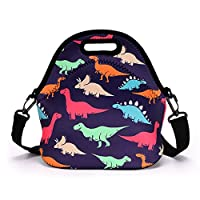 IGNPION Neoprene Insulated Lunch Bag with removale Shoulder Strap