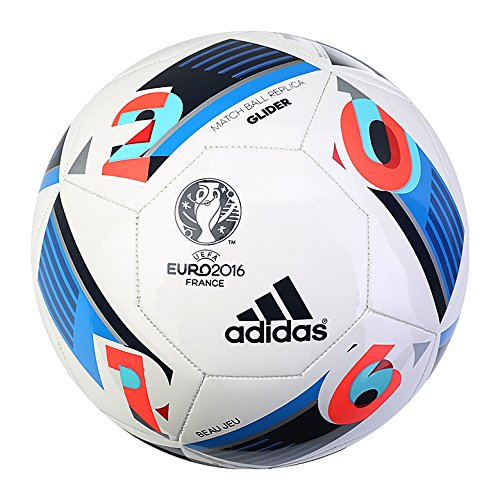 adidas Euro 2016Frankreich Match Ball Replica Glider Fußball Fußball ac5419Größe 5 (Euro Glider Fußball-ball)