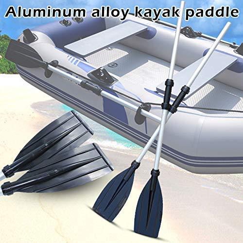 Curitely Umwandelbar Paddel Kajak Schlauchboot Kanu Floß Aluminium 2-tlg -