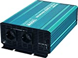 Sunpulse Spannungswandler P1500 1500W / 3000W 12V 230V Inverter Reiner Sinus Wechselrichter (Eingangsspannung (Input): 12V)