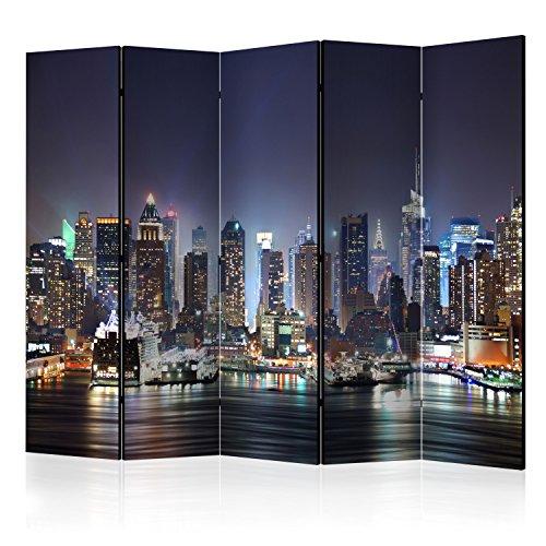 murando - Biombo con Tablero de Corcho: 5 x172x45 cm de impresión en el Lienzo de TNT Foto Biombo Decorativo para Interiores d-C-0012-z-c