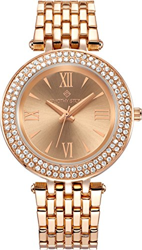 Timothy Stone collection BURST STAINLESS - reloj mujer de cuartzo, color Oro Rosa