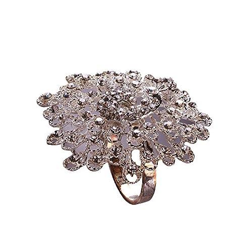 Hotel Hochwertigen Diamanten Serviette Ring Schnalle Legierung Serviette Ring Mund Kreis
