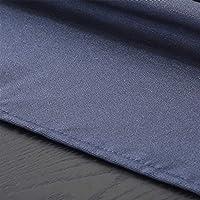 HEIFEN Mantel Impermeable 75 × 75CM Mezcla de Lino de algodón Adecuada para el Lavado -