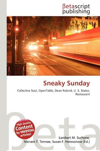 Sneaky Sunday