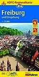 ADFC-Regionalkarte Freiburg und Umgebung 1:75.000, reiß- und wetterfest, GPS-Tracks Download (ADFC-Regionalkarte 1:75000)