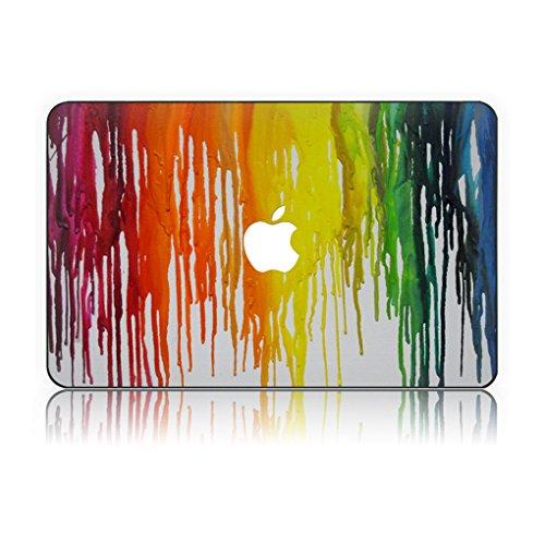 on Hochwertige Hartschale Ultra Dünn Snap Case Schutzhülle Für MacBook Pro 15 Zoll mit CD / DVD Laufwerk (Modell: 1286) (Peeling Paint 2) (Halloween-dvd-cover)