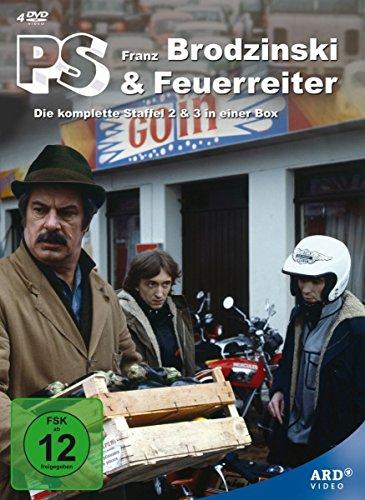 PS - Brodzinski & Feuerreiter (Die komplette Staffel 2 & 3) - Neuauflage [4 DVDs] (Wega-tv)