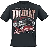 Volbeat Louder and Faster T-Shirt schwarz XL