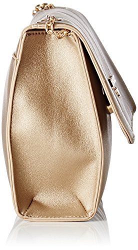 LPB Woman Damen Pochette Clutch, 25x17x25 cm Gold