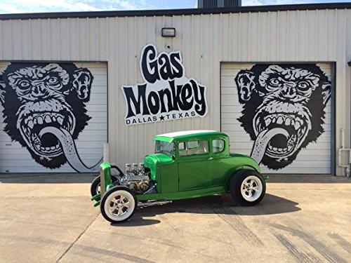 Gas Monkey Garage T-Shirt OG Logo Royal Blue