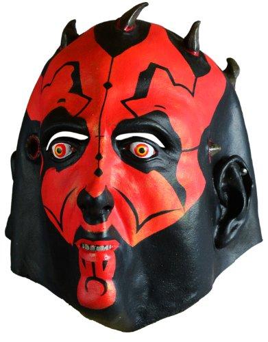 Super realistische Darth Maul Maske (Sith Krieger Kostüm)