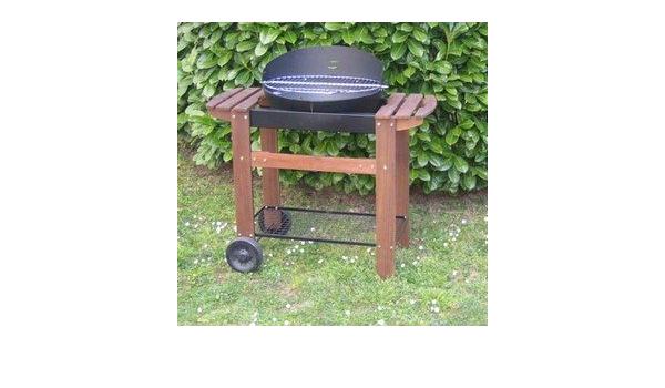 Somagic Barbecue cuve fonte ovale 56X40 cm: