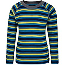 Mountain Warehouse Top de cuello redondo para Niños Merino