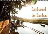 Sambia und der Sambesi (Wandkalender 2019 DIN A2 quer): Sambia, der Name leitet sich von dem Fluss Sambesi ab, der durch das Land fließt und für ... (Monatskalender, 14 Seiten ) (CALVENDO Orte) - daniel slusarcik photography (dsp)