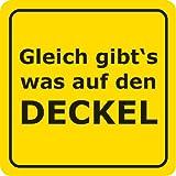 Bierdeckel 15 Stück +++ LUSTIG von modern times +++ GLEICH GIBT´S WAS AUF DEN DECKEL - VERBOTENE BIERD +++ ARTCONCEPT GMBH