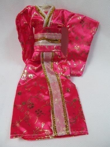 Rosa Japanischen Kimono Barbie Sindy Spielzeugpuppe Geisha Outfit Kleid Von London Nach Fett Catz Veröffentlicht (Geisha Outfits)