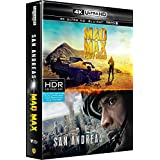 Coffret Action 4K : San Andreas + Mad Max Fury Road