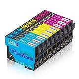 OfficeWorld Ersatz für Epson 16 16XL Farbtintenpatronen Cyan Magenta Gelb Kompatibel für Workforce WF-2630WF WF-2760DWF WF-2010W WF-2510WF WF-2520NF WF-2530WF WF-2540WF WF-2650DWF WF-2660DWF