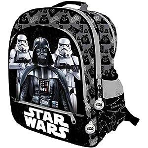 51hURmLhKVL. SS300  - Star Wars 2018 Mochila Infantil, 41 cm, Negro