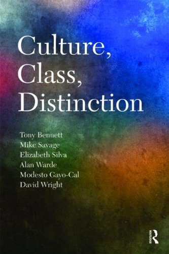 Culture, Class, Distinction (Culture, Economy, and the Social)