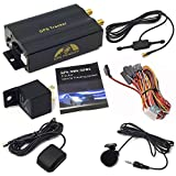 Sourcingbay GPS GPRS SMS Real-time Vehicle tracker TK103A Quad band Car Tracker with SD card slot anti-theft move alarm by SMS