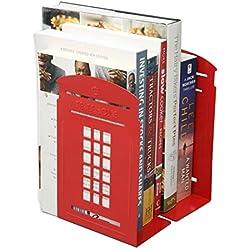 Cabina Telefonica de Londres Sujetalibros (Rojo)