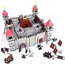 Otto-Simon 4401304 - Ritterburg Schloss Castle Festung klein mit 24 Figuren