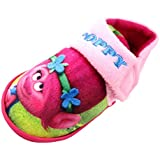 zapatilla de marca W Lamb modelo Trolls Chicas Poppy Pink Zapatilla Soft Close UK 7