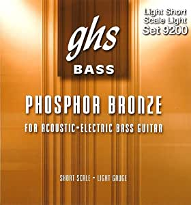 Ghs 9200L Acoustic Electric Bass String Light Short Scale