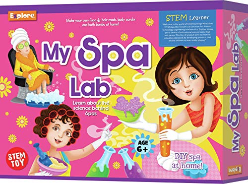 Explore.. | STEM Learner | My Spa Lab (Learning & Educational DIY Activity Toy Kit, for Ages 6+ of Boys and Girls)